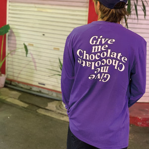 Give me Chocolate Long Sleeves【4kinds】