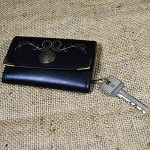 【Yami】6chain skull leather key case ( 6連スカルレザーキーケース)