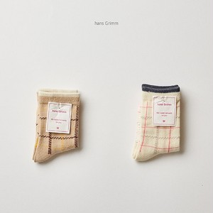 【即納商品】random check socks