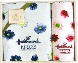 ホールマークタオルセット ブルー THA2004603