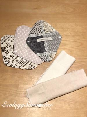 【送料無料】はじめての方限定・オーガニックコットンの布ナプキン(ネル)