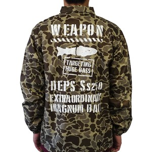 DEPS / MILITARY COACH JACKET [DUCK HUNTER×WHITE]