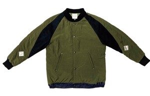 19AW ナイロンリップストップラグランジャケット / Nylon ripstop raglan jacket