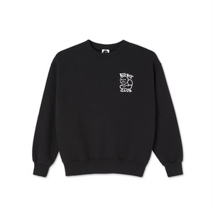 POLAR SKATE CO / BIG BOY CLUB CREWNECK -BLACK-