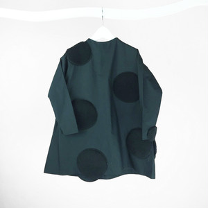 UNEVEN DOTS DRESS / WOMEN