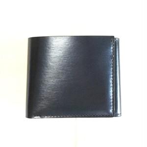 折り財布【カード&お札&コイン】ネイビー
