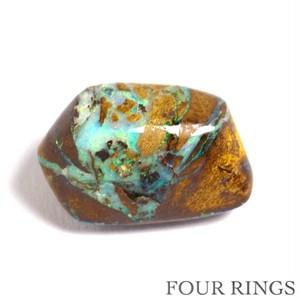 天然ボルダーオパール 8.98ct|  オーストラリア・クィーンズランド州ヤワー産☆青、緑色の遊色がきれい