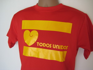 TODOS UNIDOS T-SHIRT RED