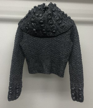 2000s CHRISTIAN DIOR BY JOHN GALLIANO CROPPED JUMPER