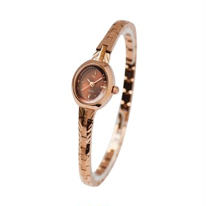 CONTENT DRESS WATCH【PINK GOLD】