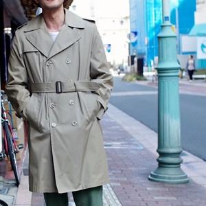 トレンチ コート 1970s / 古着屋 スプリング コート / ほぼ未使用品 !!!