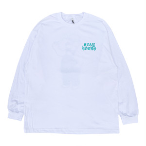 "SIXSENSE ""STAY YOUNG"" L/S -white-"