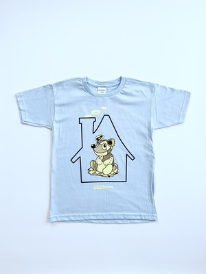 "Kid's FEEVERBUG × noise × wackwack ""ワクワクハウス"" S/S TEE➂"