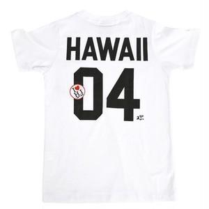 〈 HALEIWA 〉[KID'S]ワッペンTシャツ[HAWAII]/ ハレイワ / ハワイアン / キッズ / お揃い / リンクコーデ