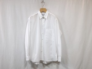 "UNIVERSAL PRODUCTS."" T.M. REGULAR COLLAR L/S SHIRT WHITE"""""