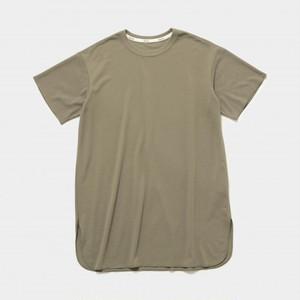 MOUNTEN.  大人サイズ seed stitch dress (khaki)  [MT201015-c] MOUN TEN. メール便可