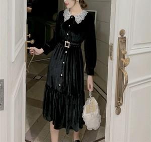 vintage belt dress