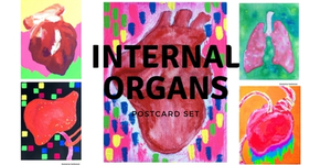 Postcard set / Internal Organs 臓器(初期作品)