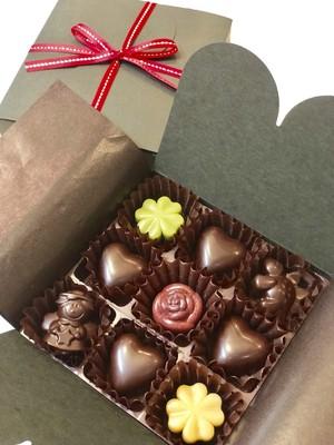 Valentine's Raw Chocolate 9粒入り