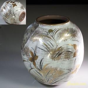 清水焼花瓶W6106