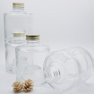 ハーバリウム瓶 ボトル (スタッキングボトルB型) 選べるアルミキャップ付 お得な2本セット180ml