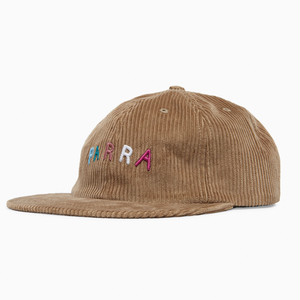 by Parra - fonts are us 6 panel hat (Camel)