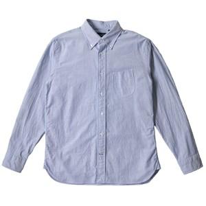 オックスフォード ボタンダウンシャツ ブルー