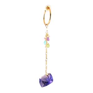 """loose stones_earrings """"alexandrite"""" a01"""