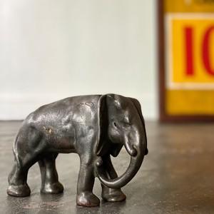 Vintage Doorstop Elephant