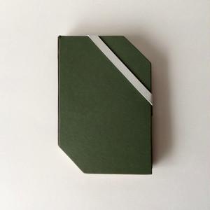 【訳ありセール】タイのゴムバンド付きのノートブック  【Damaged】Thai Triangle Notebook