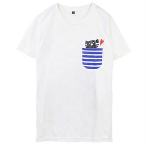 もずにゃん ポケット【BIGサイズ】Tシャツ