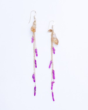 Albarracin / Citrine-Red Purple coral