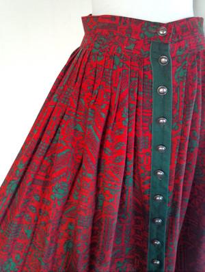 ヨーロッパ  Vintage チロルスカート  [アルベルタ] tirolsk003