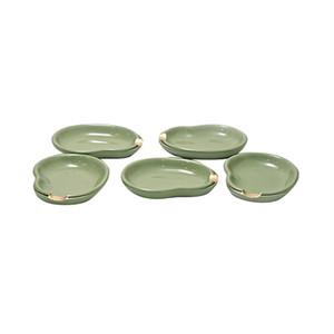 箸置き小皿 そら豆 5枚セット(No.NC-146)
