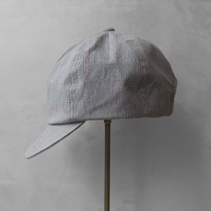 Nine Tailor Lymington cap Gray check