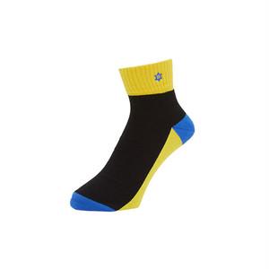 WHIMSY - VERSE SOCKS (Yellow)
