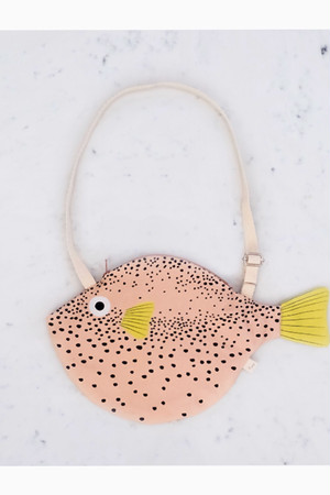 Don Fisher SMALL PINK PUFFERFISH