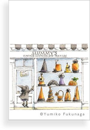 Post Card(Halloween shop)