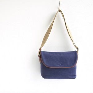 CANVAS FLAP SHOULDER S / NAVY