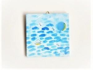 アートパネル 「静寂に舟を浮かべて」