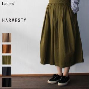 《再入荷》HARVESTY キュロットスカート(MOSS) A21501 【Ladies'】