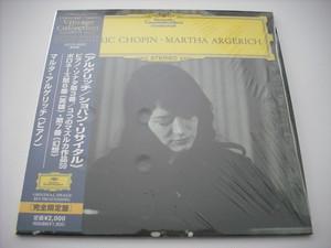 【CD】MARTHA ARGERICH / FREDERIC CHOPIN