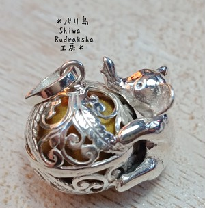 【買い付け品】ガムランボール★ガジャ(象)シルバー925