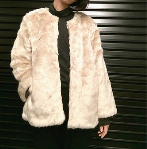 Cigarette&Valentine short fur coat