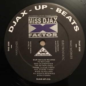 MISS DJAX / X-Factor (12 inch)