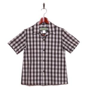 Mountain レディース&ボーイズ / パラカシャツ / ブラウン