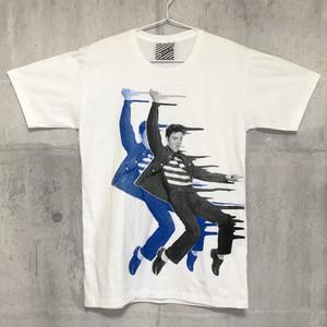 【送料無料 / ロック バンド Tシャツ】 ELVIS PRESLEY / Men's T-shirts White M エルヴィス・プレスリー / メンズ Tシャツ ホワイト M