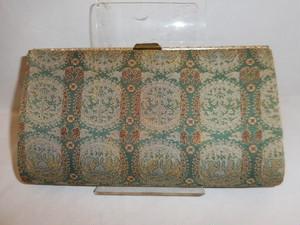 龍村かかえバック Tatsumura fabric vintage bag (made in Japan)(No6)