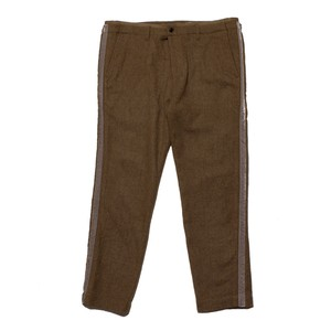 Harris Elliott x Enharmnic TAVERN Jazz Suit Pants Wool Worsted Felting Finish -brown <LSD-AH3P4-A>