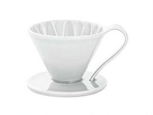 CAFEC フラワードリッパー(ホワイト) 1〜2杯用
